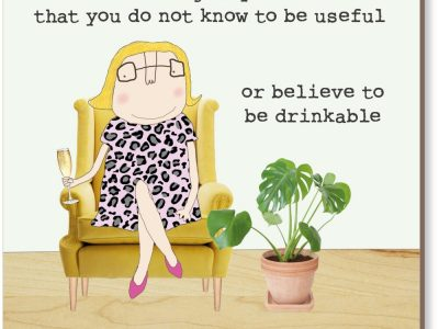 Or Believe To Be Drinkable Coaster Rosie Made A Thing